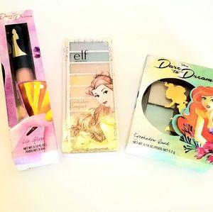 Disney princess makeup 3 pc collection